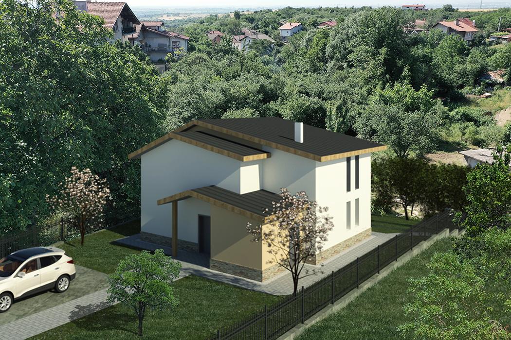 Къща в Катина